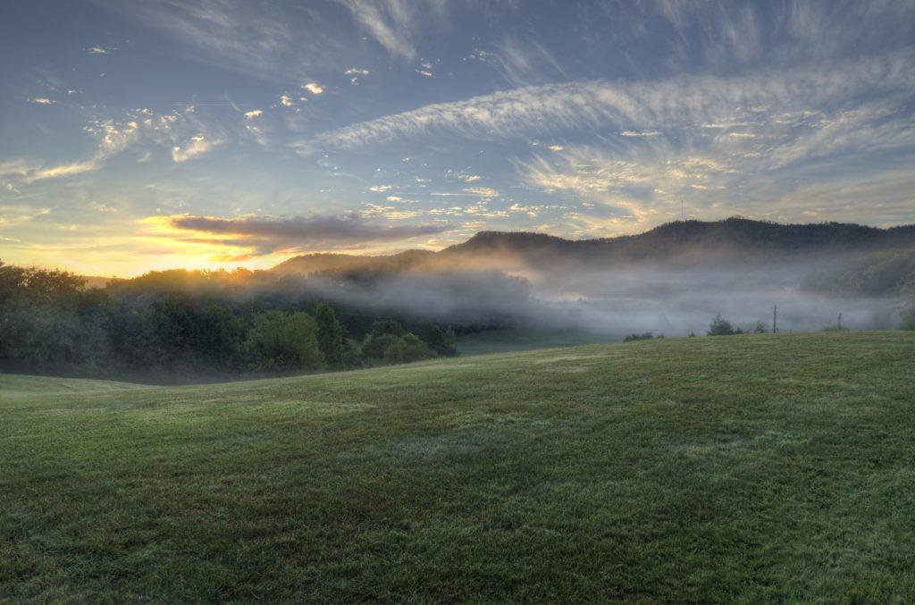 Misty Sunrise 1024x677